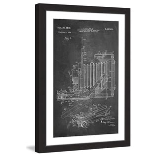 Marmont Hill - 'Camera 1949 Chalk' by Steve King Framed Painting Print
