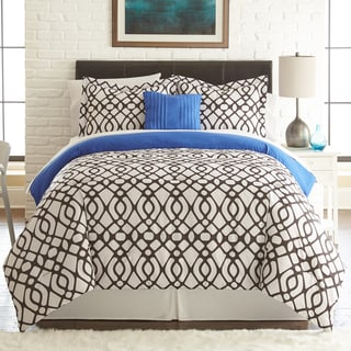 Guillermo 8-piece Printed Reversible Bed in Bag Set