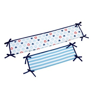 Crown Crafts Disney Baby Mickey Portable Crib Bumper