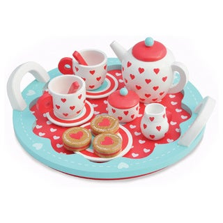 Indigo Jamm Hearts Multicolor Play Tea Set
