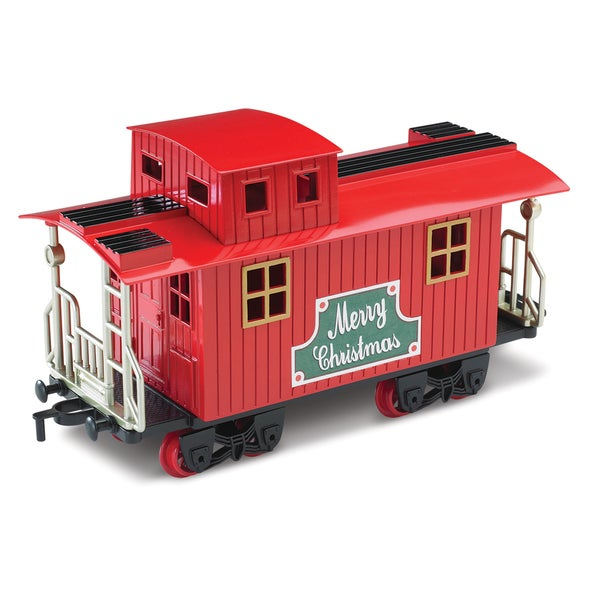 Blue Hat Toy Company North Pole Junction Christmas Train Set ...