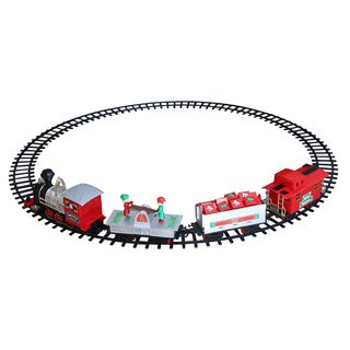 Blue Hat Toy Company North Pole Junction Christmas Train