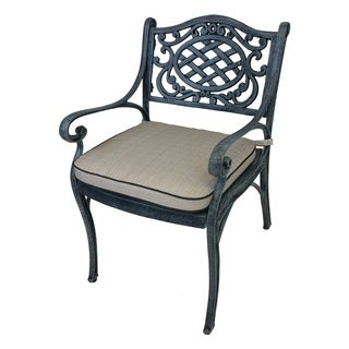 Explorer Cast Aluminum Arm Chair with Spun Polyester Cushion