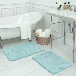 Drona Memory Foam 20 x 32-inch Bath Mat with BounceComfort Technology
