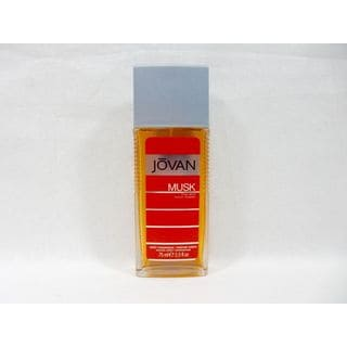Jovan Musk Men's 2.5-ounce Body Fragrance Spray