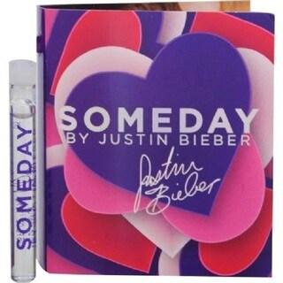 Justin Bieber Someday Women's 0.05-ounce Eau de Parfum Spray Vial