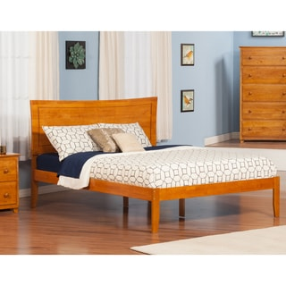 Metro Queen Platform Bed in Caramel
