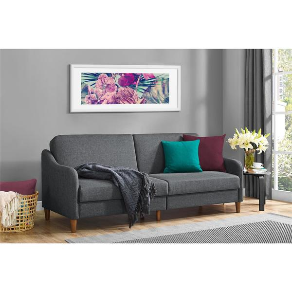 dhp jasper convertible sofa futon