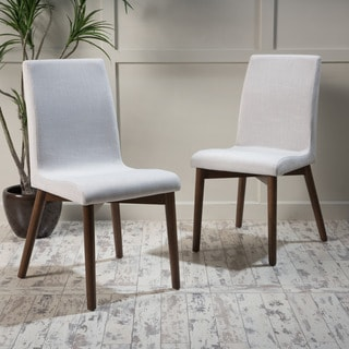 Orrin Mid-Century Fabric Dining Chair (Set of 2) by Christopher Knight Home
