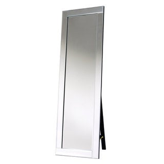 Selections by Chaumont Ascot Cheval Tall Vertical Mirror with Glass Frame