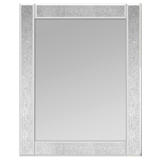Glitter Ascot Rectangle Medium Mirror (Set of 2)