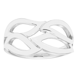 Boston Bay Diamonds Women's 925 Sterling Silver Willow Band Ring