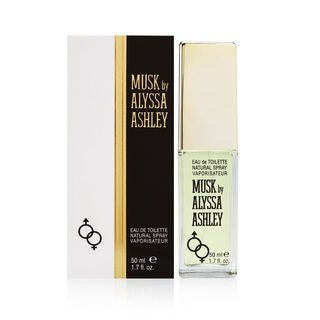 Alyssa Ashley Musk Women's 1.7-ounce Eau de Toilette Spray