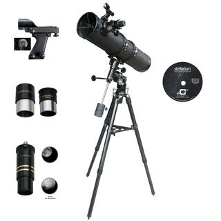 Cassini C-900135EQ3 900mm x 135mm EQ3 German Equatorial Mount Reflector Telescope