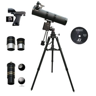 Cassini C-1100102MD 1100mm x 102mm Catadioptric Telescope on Fully Motorized German Equatorial Mount