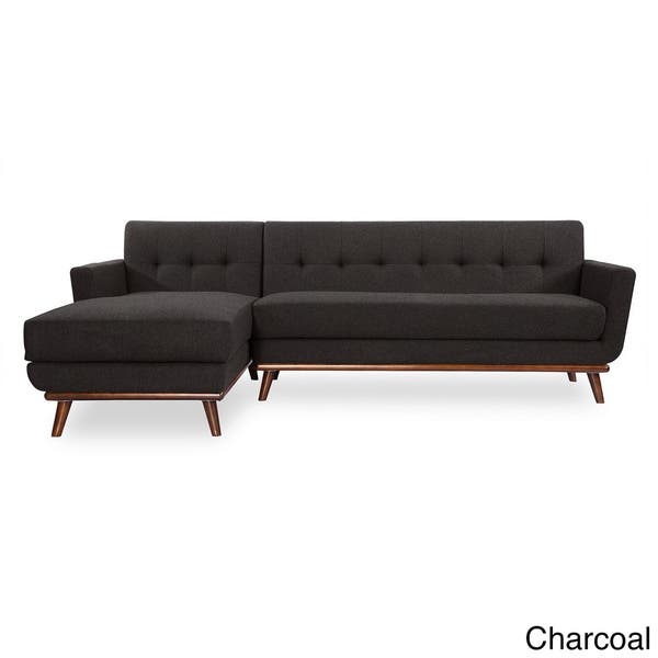 Outstanding Shop Kardiel Jackie Mid Century Modern Tweed Left Facing Gamerscity Chair Design For Home Gamerscityorg
