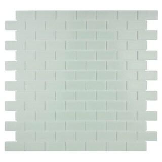 Quartz Soft White Crystal Mosaic Tiles (Pack of 5)