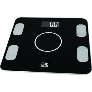 Kalorik Bluetooth Black Electronic Body Fat Scale https://ak1.ostkcdn.com/images/products/12776896/P19550410.jpg?impolicy=medium
