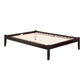 Atlantic Concord Espresso-colored King Open Foot Platform Bed