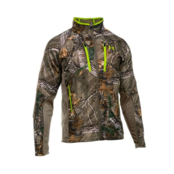 Under Armour Men's 1259185 Storm Multicolor Polyester Scent-control Softershell Jacket