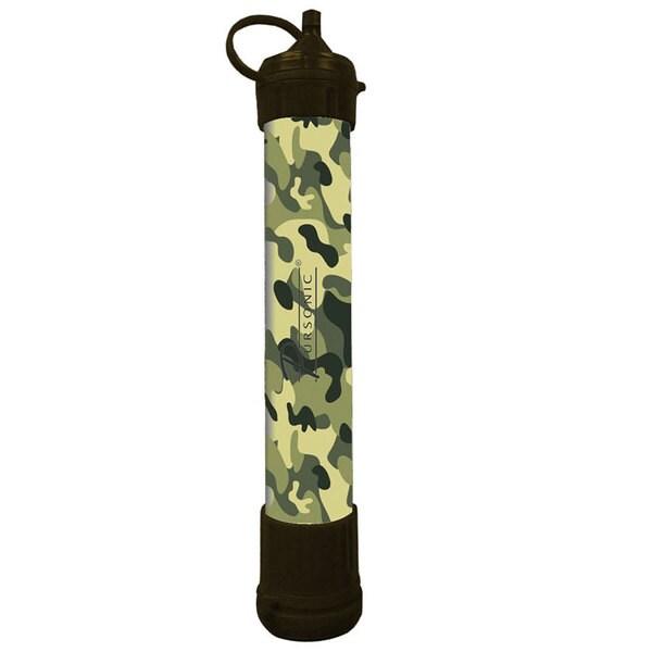 Pursonic SS1 Survivor Straw Camouflage Personal Water Filter