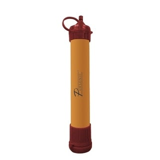 Pursonic SS1 Orange Plastic Survivor Straw Personal Water Filter