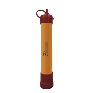 Pursonic SS1 Orange Plastic Survivor Straw Personal Water Filter