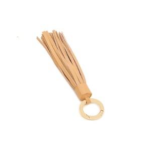 Vicenzo Leather Zita Leather Tassel Key Chain (Option: Yellow)