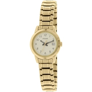 Pulsar Women's PH7030 Goldtone Stainless-Steel Quartz Watch
