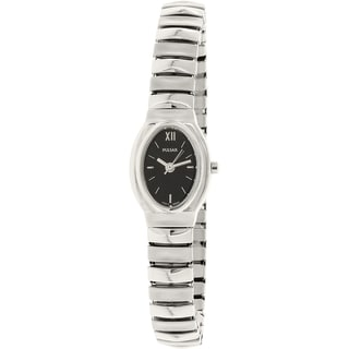 Pulsar Women's PRS577 Silver Stainless Steel Quartz Watch