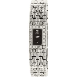 Pulsar PPGD13X Silvertone Stainless Steel Quartz Women's Watch