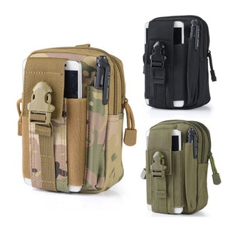 ETCBUYS Camouflage Canvas Outdoor Sport Tactical Waist Pack Bag