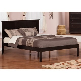 Madison Espresso Wood Open-foot Queen Platform Bed