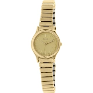 Pulsar PRS504X Goldtone Stainless Steel Quartz Women's Watch