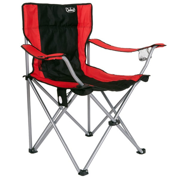 Chaheati Red Nylon/PVC Heated Chair