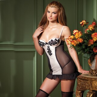 Sexy Cami Suspender with Lace