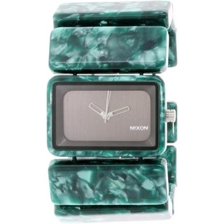 Nixon Women's Vega Green Plastic Quartz Watch