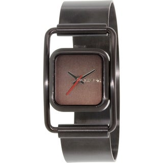 Nixon Dynasty A238001 Black Stainless Steel Quartz Women's Watch