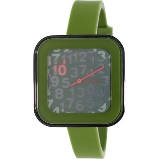 Nixon Women's Rocio A1621048 Green Silicone Quartz Watch