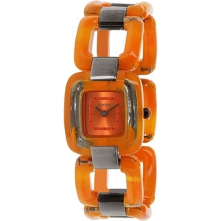 Nixon Women's Sisi Orange Plastic Quartz Watch