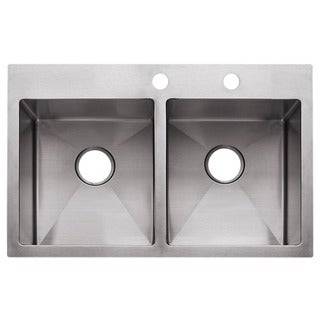 Fhp HF3322-2 Stainless Steel Satin Finish Sink