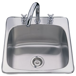 "Fhp SL103BX 10"" Stainless Steel Single Sink Bowl"