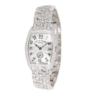 Pre-Owned Franck Muller Curvex 1750 S6 PM D Ladies Watch in 18K White Gold
