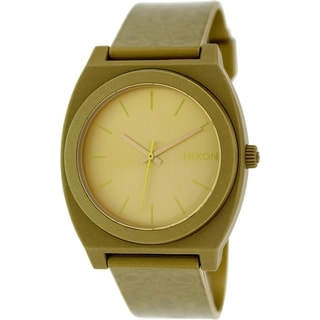 Nixon Women's Time Teller Gold-tone Plastic Quartz Watch
