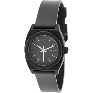 Nixon Women's Time Teller A425000 Black Plastic Quartz Watch