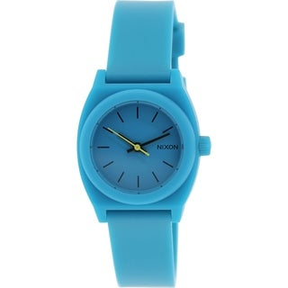 Nixon Women's Time Teller A425314 Teal Plastic Quartz Watch