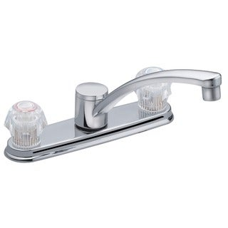 Moen CA87685 Chrome Touch Control Two Handle Low Arc Kitchen Faucet
