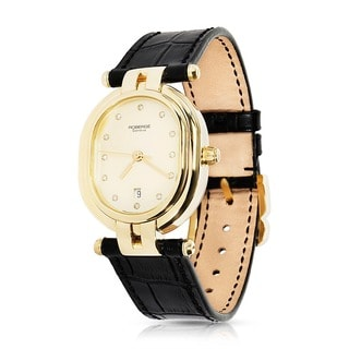 Pre-Owned Roberge Andromede II w/MOP Dial 10122111 Watch in 18K Yellow Gold