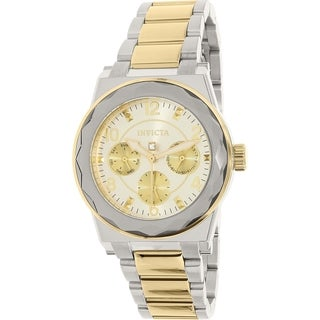Invicta Women's Angel 22108 Silver Stainless Steel Quartz Watch