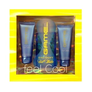 Davidoff Cool Water Game Men's 3-piece Fragrance Gift Set